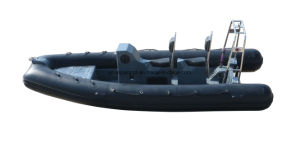 Aqualand 16feet 4.8m Fiberglass Rigid Inflatable Boat/Rib Motor Boat (rib480t) pictures & photos