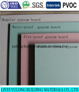 Paper Face Gypsum Board with Good Quality pictures & photos