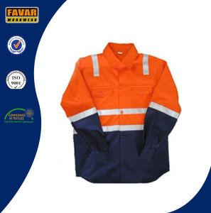 En471 Children Cotton Orange Yellow Pink High Vis Protect safety Shirt