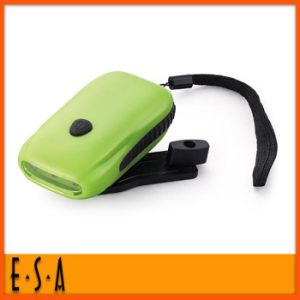 2015 Hand Crank Charging Lighting Flashlight, Multi-Function Crank Flashlight, High Quality Mini Hand Crank Flashlight G01d001 pictures & photos