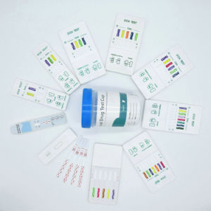 One Step Multi-Drug Panel Test, 5-Drug in 1 Format Urine Test Kit (Colloidal Gold) pictures & photos