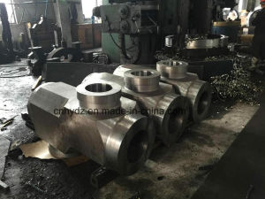 Hot Forged Lateral Tee Valve of Material A182 F91 pictures & photos