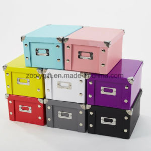 Home Clothes Paper Folding Storage Box / Multipurpose Toy Storage Box pictures & photos