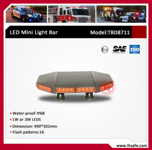 0.5 Meter Mini Warning Light Bar (TBD8711-0.5m) pictures & photos