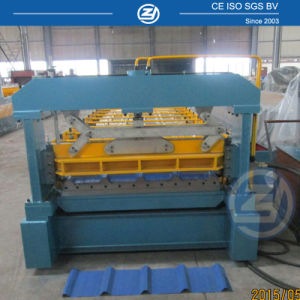 Overseas Service ISO China Roof Cold Roll Forming Machinery pictures & photos