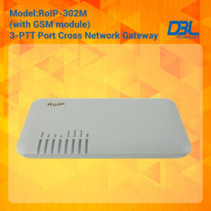 RoIP302M Cross-Network Gateway Radio/VoIP/GSM Built in SIP Server pictures & photos