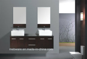 Wall Hung MDF Bathroom Cabinet pictures & photos