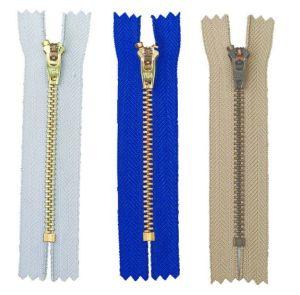4# Yg/GS Semi Auto Lock, Brass Zipper pictures & photos