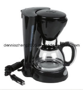 Electric Programmable Drip Coffee Maker for Vehicle Use, Vehicle-Mounted Coffee Maker
