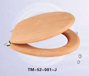 TM52solid Wood Veneer Toilet Seat