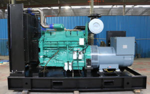 Cummins Water Cooled Open Type ATS Diesel Generator Set 300kw pictures & photos