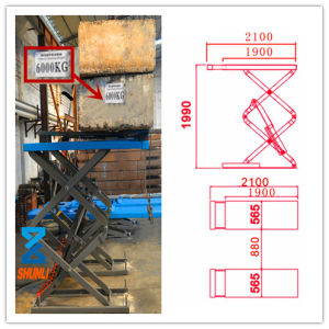 SUV Lift / Small Lift / Car Lift / Auto Lift /4.5t, 2.1m Length (SHL-Y-J-45BM) pictures & photos