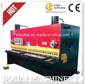 QC11y 16/2500 Chinese Hydraulic Guillotine Shearing Machine pictures & photos