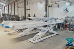 Ce Approval Hydraulic Car Lifter (SHL-Y-J-45DL) pictures & photos