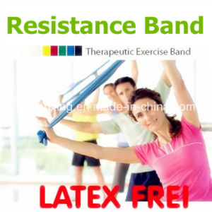 Gymnastic Exercise Rubber Band Flat Resistance Bands for Workout Eco-Friendly Fitness Band pictures & photos