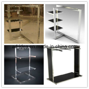 Pop New Stainless Steel Coat Display Racks pictures & photos