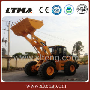 Ltma Loader 5 Ton Shovel Loader with More Steady Operation pictures & photos