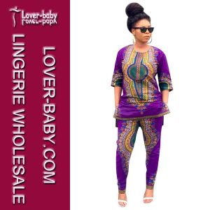 Daishiki Fashion Set African Women Clothing (L28069) pictures & photos