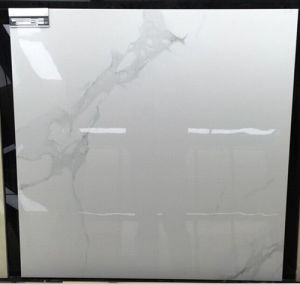 Glossy Polished Porcelain Super Snow White Glazed Floor Tiles pictures & photos