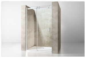 Line Sliding Adjustable Shower Enclosure