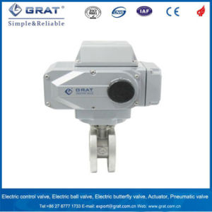 Ultra Short Face-to Face Dimension Electric Ball Valve pictures & photos