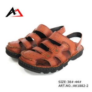 Sandal Shoes Leather Casual Fashion Comfortable Footwear for Men (AK1882) pictures & photos