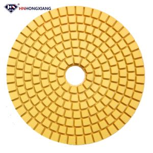 "4"" Resin Diamond Polishing Pad Dry for Stone pictures & photos"