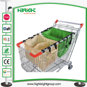 180L Shopping Cart Trolley with Baby Seat pictures & photos