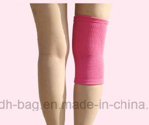 Customized Sports Leg Sleeve Cotton Elastic Knitted Knee Supporter pictures & photos