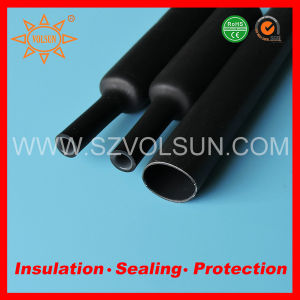 Halogen Free Dual Wall Glue Heat Shrinkable Tubing pictures & photos
