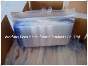 Ziplock Bag with Red/Green/Blue Line on Flap pictures & photos