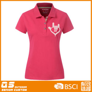 Women′s Polo Sport Fitting T-Shirt pictures & photos