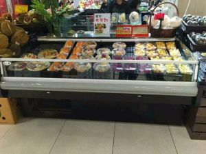 Ce Certification Air Cooling Type Freshing Freezer/Refrigerator Display pictures & photos