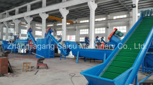 Waste Pet Crushing Washing Plastic Recycling Machine pictures & photos