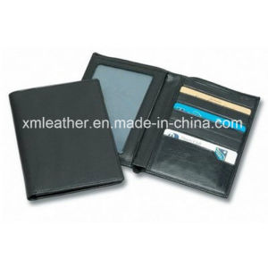 Custom Logo Leather Travel Passport Holder Wallet pictures & photos