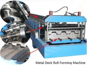 Yx Series Steel Coil Metal Floor Decking Roll Forming Machine pictures & photos