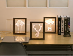3D Night Light Picture Frame pictures & photos
