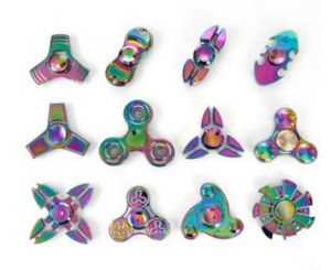 High Quality Fidget Toy Multi Colorful Rainbow Fidget Spinner Hand Spinner pictures & photos