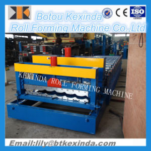1100 Roof Step Tile Roll Forming Machine pictures & photos