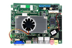 Pin Processor Motherboard with Controller Rtl8111e-Vl, 10/100/1000Mbps, 2X 1000m RJ45 LAN pictures & photos