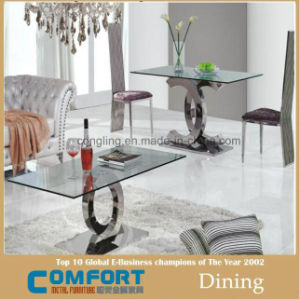 Home Room Furniture Cheaper Marble Dining Table Set