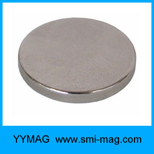 High Quality Permanent NdFeB Neodymium Thin Disc Magnet pictures & photos