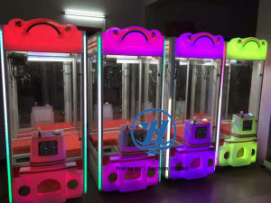Claw Crane Vending Toy Game Machine (ZJ-CGA-7) pictures & photos