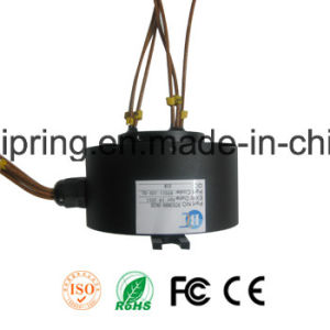 Inner Hole 80mm High Quality Through Hole Slip Ring with ISO/Ce/FCC/RoHS, pictures & photos