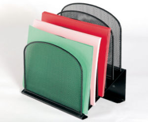 Desk File Organiser/ Metal Mesh Stationery Organizer/ Office Desk Accessories pictures & photos