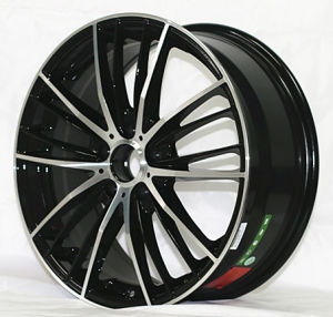 After Alloy Wheels with Black Machine Face pictures & photos
