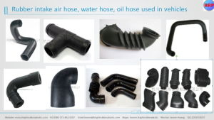 Custom Special Colorful OEM Auto Rubber and Silicone Molded Parts pictures & photos