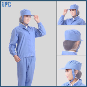 Custom Advanced Detection Work Uniform with Hat for Food Factory pictures & photos