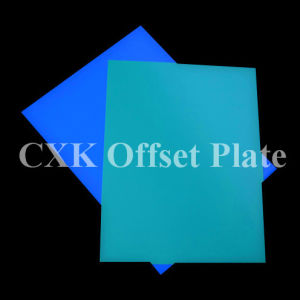Blue Color UV Ctcp Plate and Printing Material pictures & photos