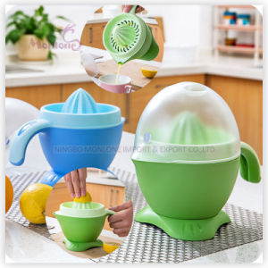 Hot Selling Plastic PP Manual Orange/Lemon Juicer 15*23*20cm pictures & photos
